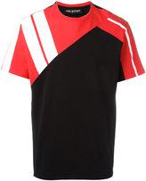 Neil Barrett colour block T-shirt