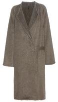 Helmut Lang Alpaca And Wool Coat