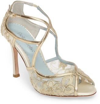 Bella Belle Tess Peep Toe Sandal