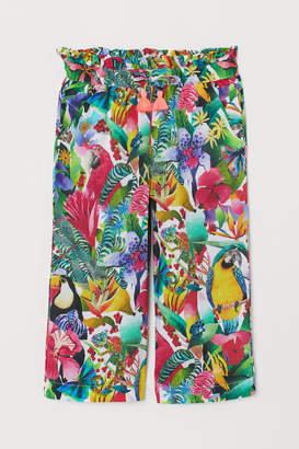 H&M Patterned Culottes - Green