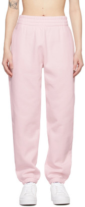 alexanderwang.t Pink Terry Foundation Lounge Pants