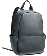 Calvin Klein Collection Two Tone Soft Calf Utility Backpack