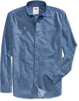 Levi's Men's Franklin Slub Long-Sleeve Shirt
