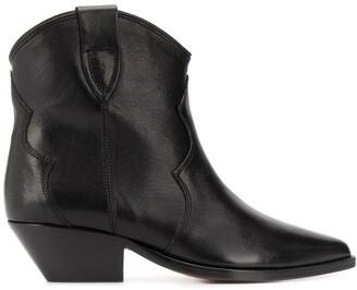 Isabel Marant Dewina cowboy style boots