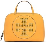 Tory Burch Perforated-Logo Satchel