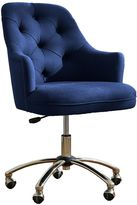 Tufted Desk Chair, Navy