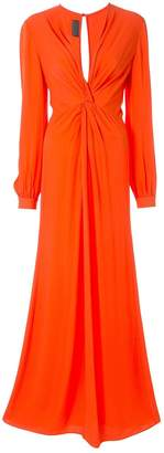 Ginger & Smart Orphic knot-detail gown