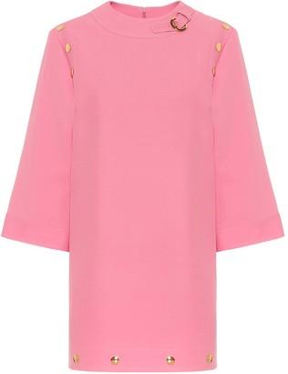 Gucci Silk and wool cady minidress