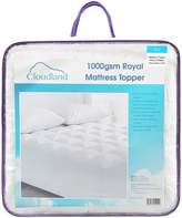 Cloudland 1000GSM Mattress Topper, Single