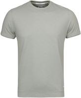 Cp Company Khaki Tacting Knit Short Sleeve T-shirt