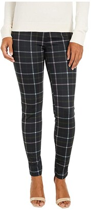 Sanctuary Grease Leggings in Morning Pink Plaid (Morning Pink Plaid) Women's Casual Pants