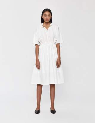 Neul Short Sleeve Ruffle Neck Dress