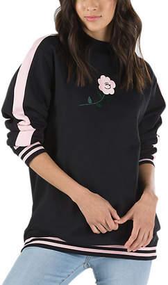 Vans x Lazy Oaf Bear Floral Crew Sweatshirt