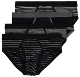 George 4 Pack Assorted Briefs