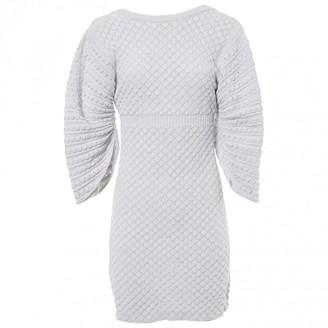 Chanel White Viscose Dresses