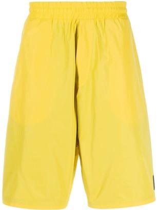 Mcq Swallow Logo Patch Bermuda Shorts