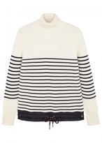 Moncler Striped Roll-neck Wool Jumper