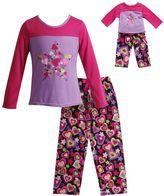 Dollie & Me Girls 4-14 Heart & Star Pajama Set