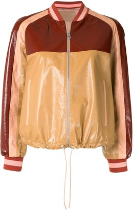 Drome Colour-Block Bomber Jacket