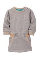 Babyface Metallic Sweater Dress (Baby, Toddler, & Little Girls)