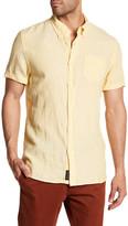 Jachs Linen Short Sleeve Classic Fit Shirt