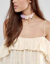 Asos Spring Flower Choker Necklace
