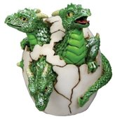 Summit 3 Headed Dragon Hatchling Collectible Figurine Statue Sculpture Figure