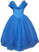Pettigirl Girls Princess Dress Butterflies Cinderella Costume