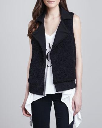 Splendid Bowery Reversible Sherpa Vest