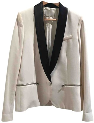 IRO White Wool Jackets