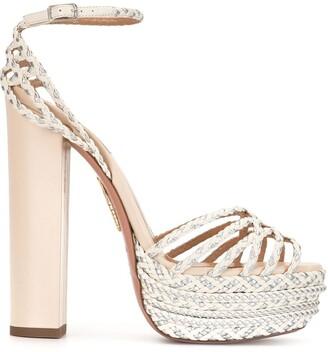 Aquazzura Cazumel platform sandals