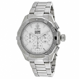 Tag Heuer Aquaracer CAY211Y.BA0926 Men's Round Silver Stainless Steel Watch