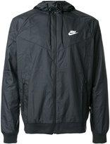 Nike hooded windbreaker - men - Polyester - S