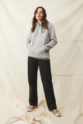 Dickies Grey Oklahoma Hoodie - Grey XS at Urban Outfitters