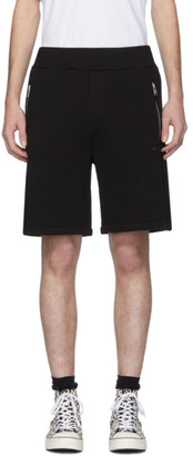 Marni Black Logo Shorts