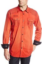 Roar Men's Sonar Orange Woven