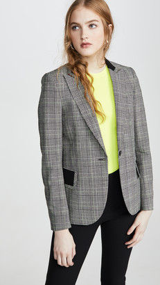 Paul Smith Black/White Plaid Check Blazer