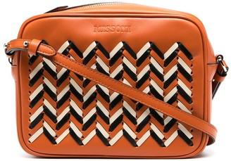 Missoni Woven Leather Crossbody Bag
