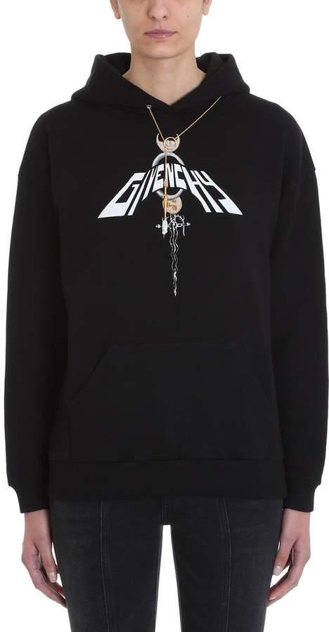 69fa517ff Black Sweatshirt With Pearls - ShopStyle