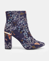 Ted Baker Kyoto Gardens heeled ankle boots
