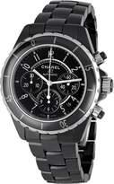Chanel Men's H0940 J12 Sport Black Dial Watch