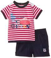 Disney Baby Boys' Cars Short Sleeve Clothing Set