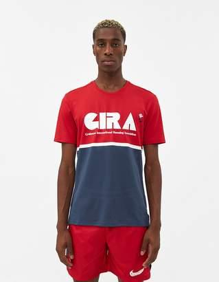 Nike S/S Gyakusou Colorblock Tee in Red