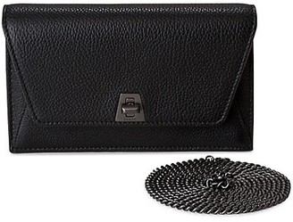 Akris Mini Anouk Envelope Leather Crossbody Bag