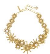 Oscar de la Renta Bold Pearl Sun Star Necklace