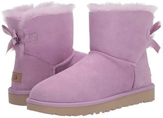 UGG Mini Bailey Bow II (Black) Women's Boots