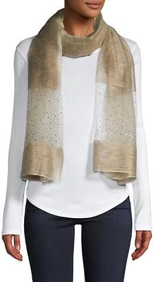 Saachi Silk Wool-Blend Scarf