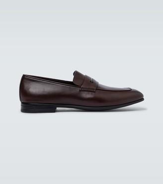 Ermenegildo Zegna L'Asola leather loafers