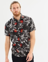 Quiksilver Mens Agave Short Sleeve Shirt