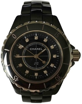 Chanel J12 Quartz Anthracite Ceramic Watches